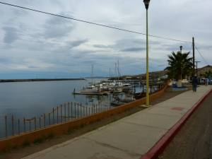 Santa Rosalia harbor
