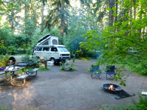 Seaquest state Park Campground