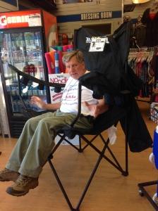 Big guy's chair