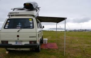 Camp above Marina