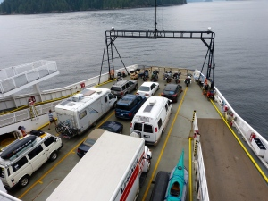 Ferry to Gibsons
