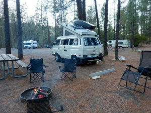 Riverside State Park - Bowl and Picture Campground: